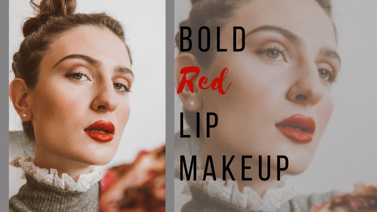 როგორ გავიკეთოთ Bold Lip მაკიაჟი + მაკიაჟის ხრიკები