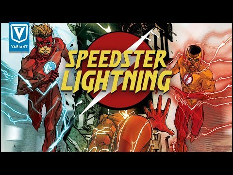 Why Speedsters Have Different Lightning Colors!