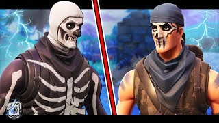 SKULL TROOPER vs WARPAINT - A Fortnite Short Film