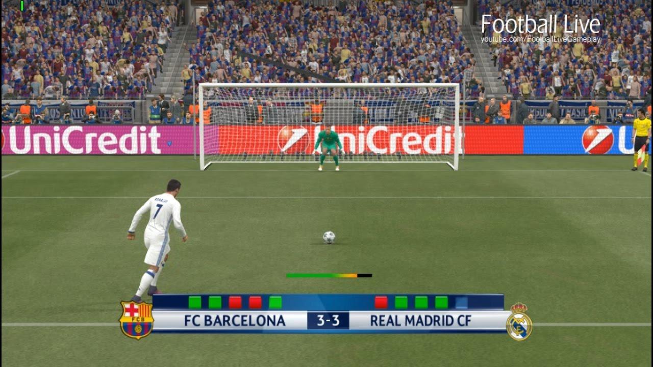 Real Madrid Vs Barcelona Penalty Shootout