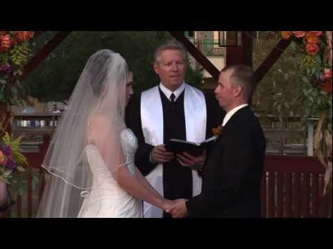 Orlando Wedding Officiants | Award winning Officiant blessings the couple | 407-521-8697