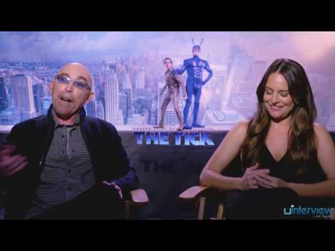 Yara Martinez and Jackie Earle Haley on Being Villains in 'The Tick'