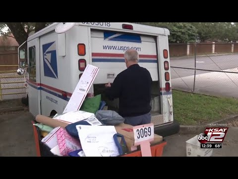 Holiday Season Busy Time For USPS Letter Carriers