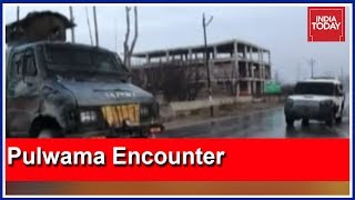 Pulwama Encounter Underway: Terrorists Reportedly Linked To Jaish Suicide Bomber Adil Dar