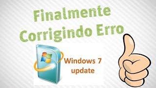 Corrigindo Erro Windows Update