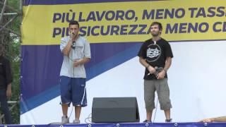 #Pontida 2015  - Omaggio a Vittoria #Cola
