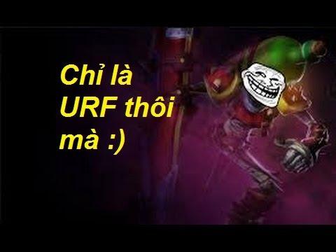 "LOL LMHT Trâu best udyr  - Trâu chơi singed siêu lầy lội ở chế độ ""URF"""