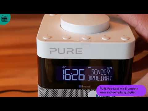 Digitalradio Test: Pure Pop Midi mit Bluetooth