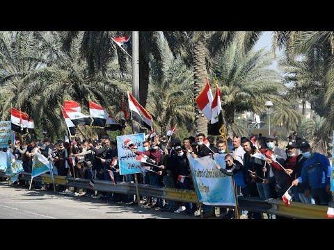 الإجراءات الاحترازية تمنع سكان بغداد من مقابلة البابا خلال زيارته التاريخية  - نشر قبل 10 ساعة