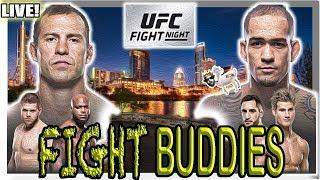 UFC FIGHT NIGHT COWBOY v MEDEIROS LEWIS v TYBURA LIVE REACTION!