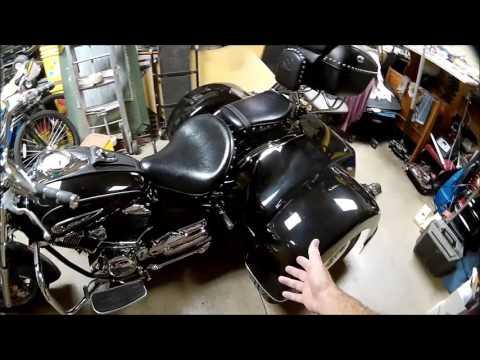 2008 Yamaha V-Star 1100 Trike Conversion part  33