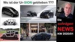 Der SION lebt, Tesla Sprachstörungen, Visionen 2020 (NEWS KW01/2020)