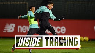 Inside Training: One-touch matches, magic from Firmino & competitive sprints