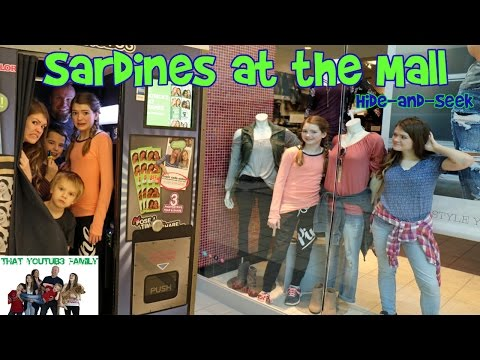 Sardines at the Mall -  Hide and Seek / That YouTub3 Family