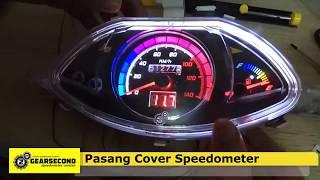 Tutorial Custom Speedometer Honda Vario 110 Old