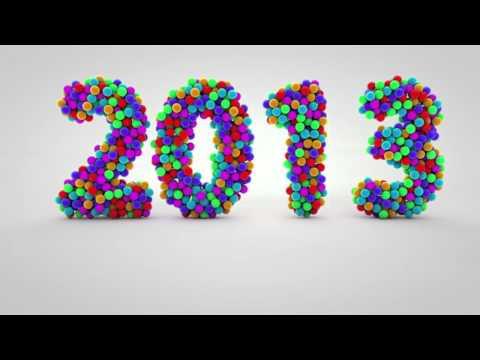 Cinema 4D effect - Hiệu ứng kĩ xảo ^^ Tết tết tết đến rồi ^^ 2013 ^^