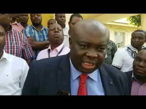 KCM Liquidator & Mines Union Leaders Address The Media