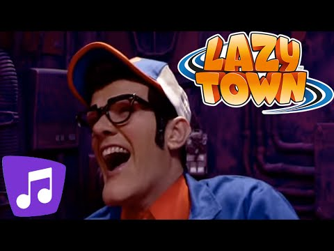 Lazy Town Music Video I Techno Generation Music Video
