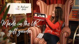 Christmas Gift Guide 2018: Made In The Uk   That New Dress