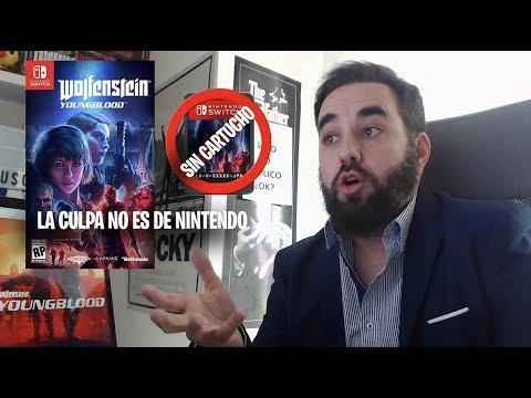 Wolfenstein Youngblood se venderá con la copia fisica sin cartucho LA CULPA NO ES DE NINTENDO thumbnail