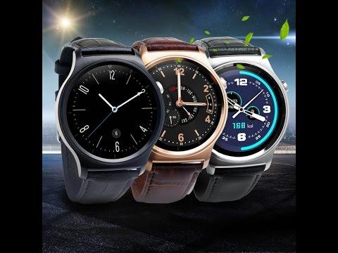 GW01 Smart watch Leather chytré hodinky - CZ SK eshop - pošta zdarma ... 992e9b81fc