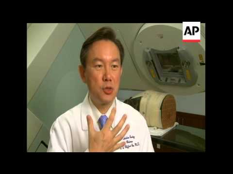 Dr  Clifford Chao, radiologist in chief at New York Presbyterian Hospital,  talks about how radiation