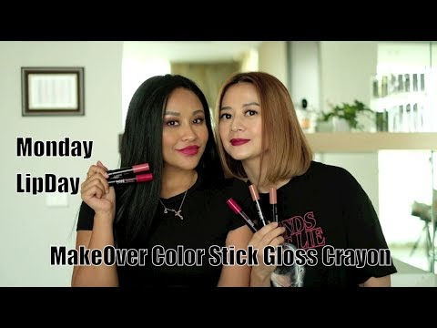 makeover-color-stick-gloss-crayon-review-  -monday-lipday