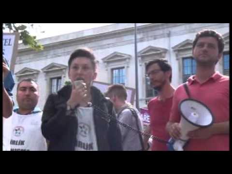 5 Temmuz 2015 Grand Hyatt Otel işçilerine destek eylemi 21min