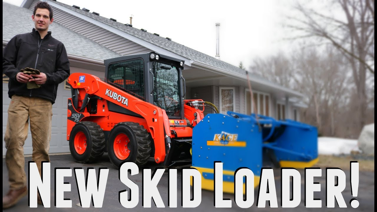 New Kubota Skid Loader Delivered