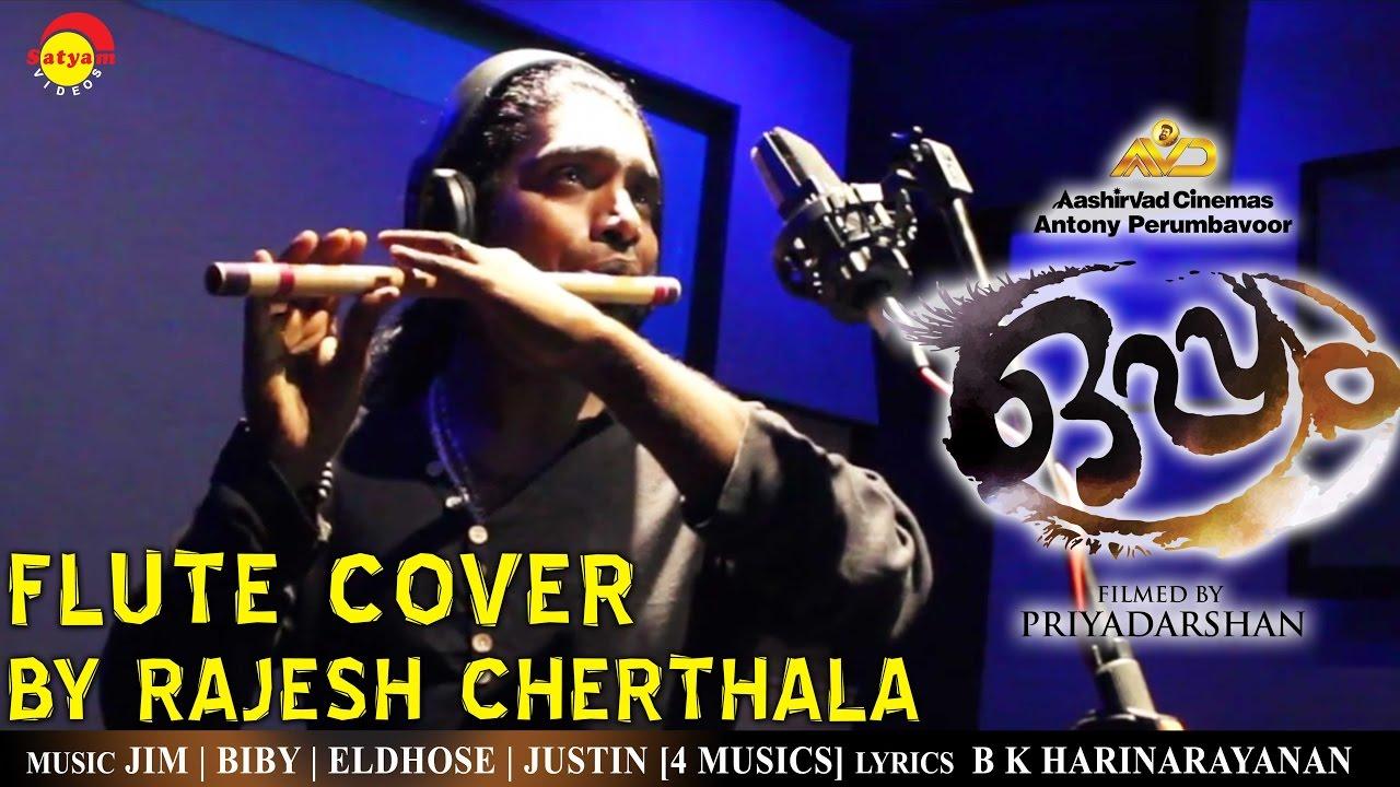 Minungum | FIlm Oppam | 4 Musics | Flute Cover by Rajesh Cherthala