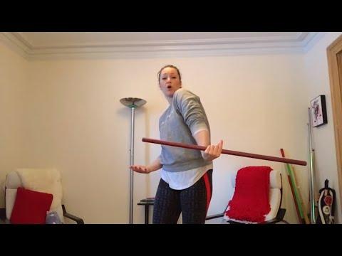 Backhand Flip -  STAFF SPINNING TUTORIAL - Freestyle Staff