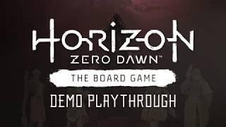 Horizon Zero Dawn™: The Board Game - Kickstarter Playthrough