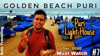 BLUE FLAG BEACH: GOLDEN BEACH PURI DURING COVID-19 | PURI SEA BEACH | PURI LIGHT HOUSE | UNLOCK PURI
