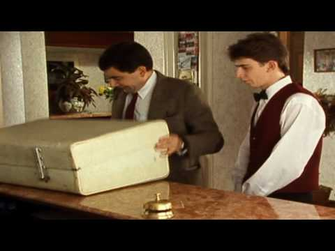 Checking in at the hotel | Mr. Bean Official