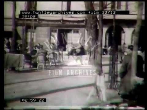 Montmartre and Pigalle in Paris, 1940's film 33713