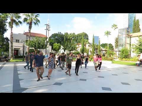 Tel Aviv - WCS International Flashmob 2017 - One Take
