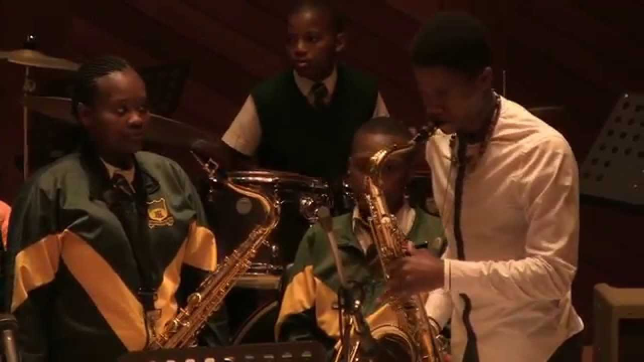 IMAD - Langa High School band - 7 November 2015