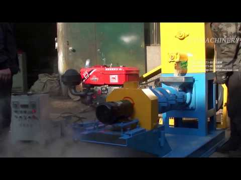 HSDGP80 Series floating fish feed pellet mill
