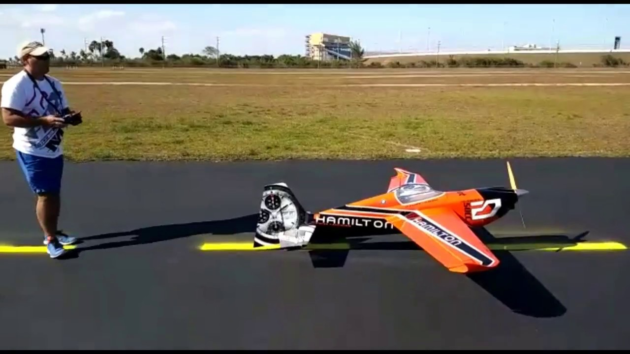 Hamilton RC Edge 540 V 3 31% Maiden Flight