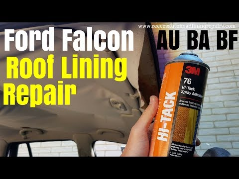 Ford Falcon Wagon Roof Lining Repair   AU BA BF HEADLINER ROOFLINING
