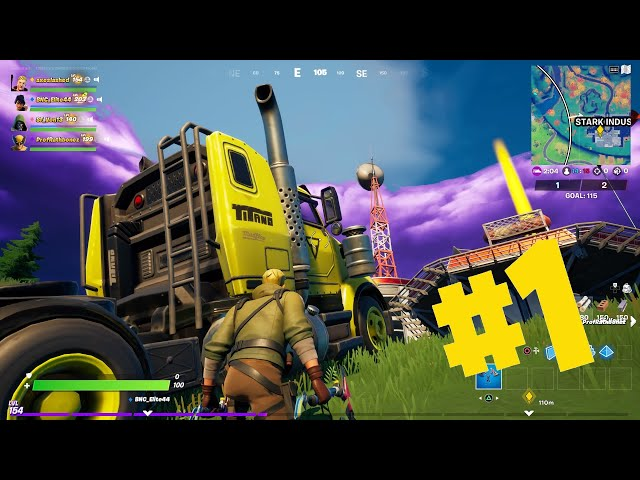 Deliver a Semi Truck from Outside Upstate New York to Stark Industries - Fortnite Challenge for XP