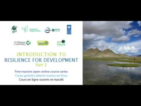 Marcela Torres   Course Room Walk Through  Introduction to Resilience for Development Part 2