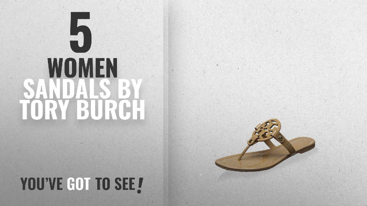 124653c9c8e307 Top 5 Tory Burch Women Sandals  2018   Tory Burch Miller Metallic Sandal  Womens ...