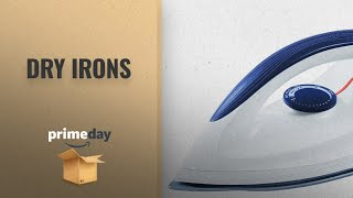 Dry Irons Prime Day 2018: Orpat OEI 187 1200-Watt Dry Iron (White and Blue)