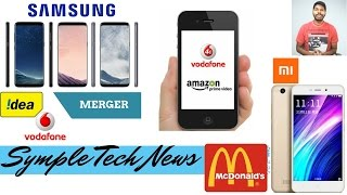 Symple Tech News March 20th| Vodafone-Idea Merger| McDonald's India leaks personal information
