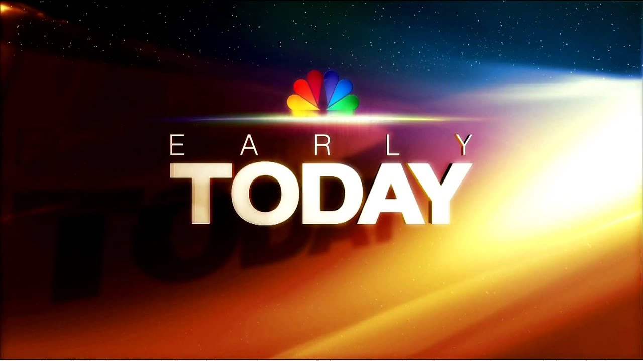 NBCNews Early Today Open HD YouTube
