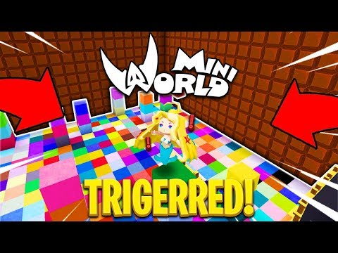 PARKOUR BIKIN NGEGAS WOI ! 😡 - Mini World Block Art [#05] - 동영상