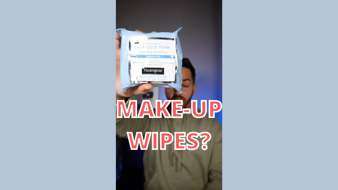 DO MAKE-UP WIPES ACTUALLY CLEAN? #shorts