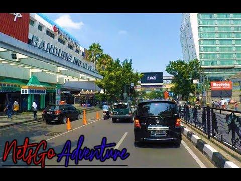 Suasana Lalu Lintas Kota Bandung Di H+1 Lebaran 2018