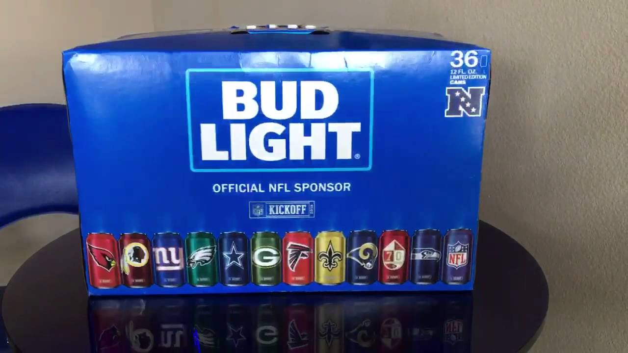 Bud Light NFL 32 Team Pack Has Arrived! Amazing Pictures